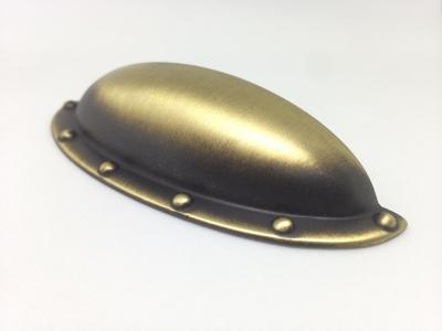 Ручка-скоба 64мм, отделка бронза матовая 8.952.0064.28