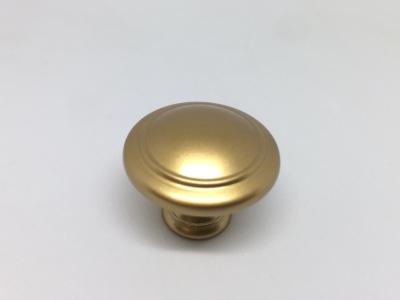 """WPO.2025Y.30.M00R8 Ручка-кнопка, отделка золото матовое """"Милан"""""""