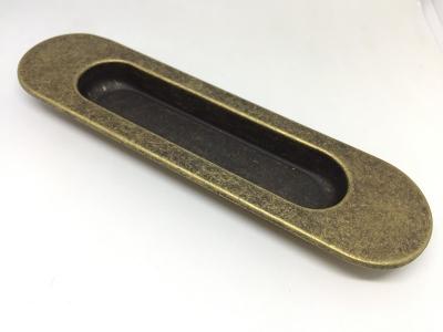 Ручка врезная 150мм, отделка бронза античная 3921/831