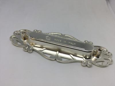 Ручка врезная 96мм, отделка серебро лунное 15258Z13400.69