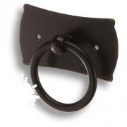 Juliet 3-14 Ручка кольцо на подложке, цвет черный