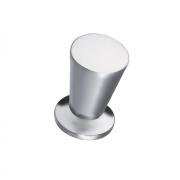 Ручка-кнопка K-1010 SC отделка хром матовый