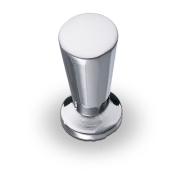 Ручка-кнопка K-1010 отделка хром глянец
