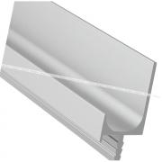 Профиль-ручка врезная для фасада 18мм, алюминий матовый, L-5500мм LKW5AA