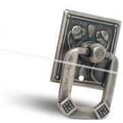 Ручка-капля серебро состаренное M1179000SFE