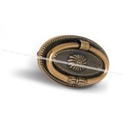 Ручка-капля 64мм бронза состаренная M1217B00OV