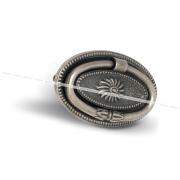 Ручка-капля 64мм серебро состаренное M1217B00SFE