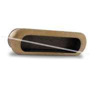 Ручка-раковина 96мм бронза состаренная M1338A0021