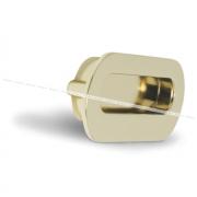 Ручка-раковина 96мм золото MD1203/96