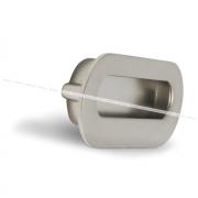 Ручка-раковина 96мм никель матовый MD1206/96