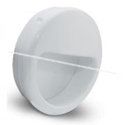 Ручка-раковина D51мм белый MD6140
