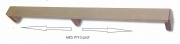 MKS9710-2950-L02 Профиль погонаж, матовый хром