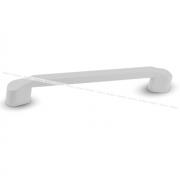 NICK Ручка-скоба 160мм белый NIK.160.WH