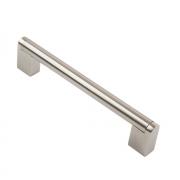 Ручка-рейлинг 14мм, 172*14*36, 160 мм R-3050-160 ST