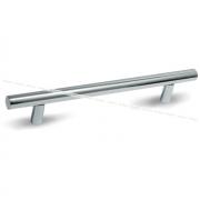Ручка-рейлинг 128мм хром RE1004/128