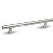 Ручка-рейлинг 128мм никель матовый RE1006/128