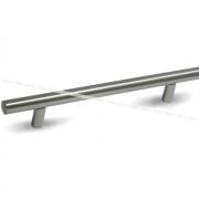 Ручка-рейлинг 128мм нерж. сталь RE1007/128