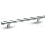 Ручка-рейлинг 128мм хром матовый RE1008/128