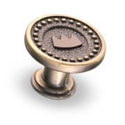 Ручка-кнопка, 28*22 мм RK-024 BA