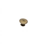 Ручка-кнопка,  оксидированная бронза 31x31x20 мм RK-066 OAB