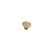 Ручка-кнопка,  матовая бронза 30x30x20 мм RK-067 MAB
