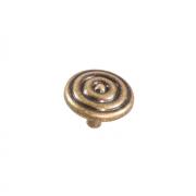 Ручка-кнопка, оксидированная бронза RK-077 OAB