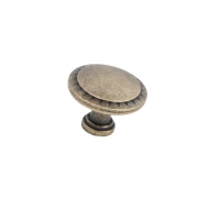 Ручка-кнопка оксидированная бронза RK-086 OAB