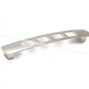 QUADRA Ручка-скоба 160мм никель матовый RR0806/160