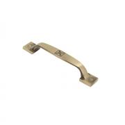 Ручка-скоба, 96 мм матовая бронза 132x20x21 мм RS-070-96 MAB