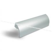 Профиль-ручка 128мм алюминий UA01C00/128