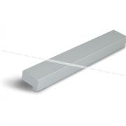 Профиль-ручка 128мм алюминий UA02C00/128