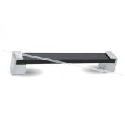 TRANSFORMER Ручка-скоба 160мм хром/черный глянец UA6604AOB/160