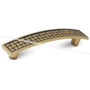DAFNE Ручка-скоба 96мм бронза состаренная UG1905