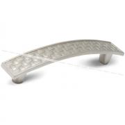 DAFNE Ручка-скоба 96мм никель матовый UG1906