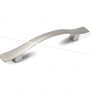 Ручка-скоба 96мм никель матовый UN0606
