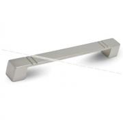 Ручка-скоба 192мм никель матовый UN4906/192
