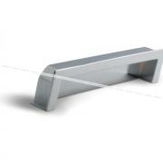 Ручка-раковина 128мм хром UN5004/128