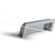Ручка-раковина 96мм хром UN5004/96