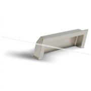 Ручка-раковина 96мм никель матовый UN5006/96