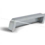 Ручка-раковина 128мм хром матовый UN5008/128