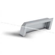 Ручка-раковина 96мм хром матовый UN5008/96