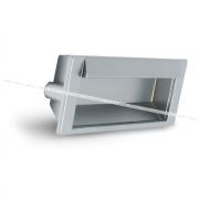 Ручка-раковина 128мм хром матовый UN6308/128