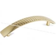 Ручка-скоба 128мм золото UN8703/128