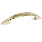 Ручка-скоба 128мм золото UN8803/128