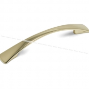 Ручка-скоба 128мм золото UN9003/128