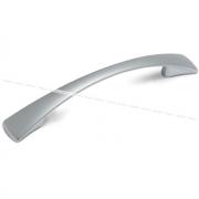 Ручка-скоба 128мм хром матовый UN9008/128