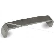 Ручка-скоба 128мм хром вулканический серый UN94VG/128
