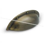 Ручка-раковина 64мм бронза полированная UP01AB