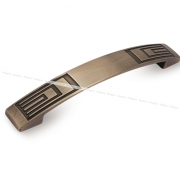 Ручка-скоба 128мм бронза полированная UR2702/128