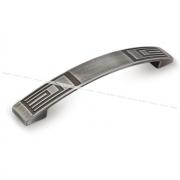 Ручка-скоба 128мм серебро полированное UR2709/128